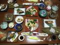見た目がきれいな夕食