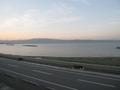 朝の海の様子