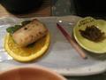 焼き魚&きのこ味噌
