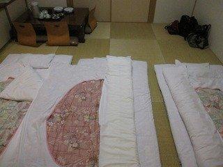 布団の敷き方