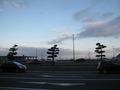 旅館前の風景