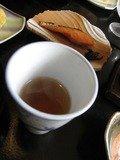 朝食後のお茶