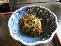 山菜などの煮物