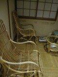 貸切風呂休憩スペース