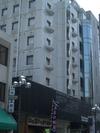 お城の見えるぶらくり丁のなかにあるホテル