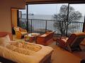 琵琶湖の夕日が絶景の部屋