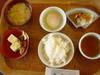 朝食バイキング、和食
