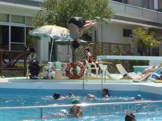 飛び込みプール