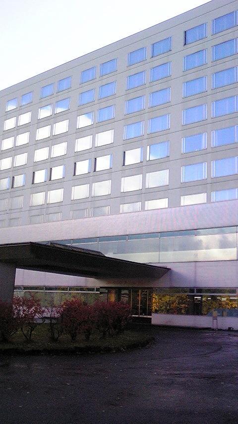 雫石プリンスホテルの外観