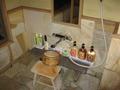 貸切露天風呂のシャワールーム