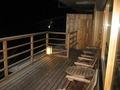 ゲストサロンから見る夜の風景