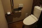広いトイレです