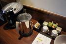 お茶やコーヒー完備です