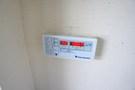 温度調整は自動です