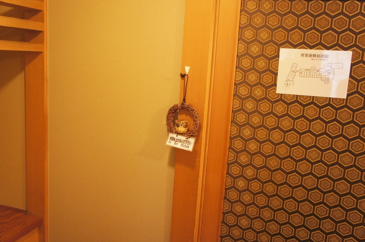 ドアにつけてお知らせ
