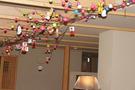 談話室の天井