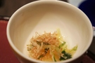 先附の小松菜