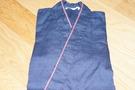 作務衣の青