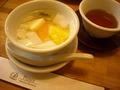 デザート(杏仁豆腐)