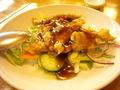 豚ヒレ肉の揚げ物 黒酢ソース