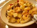 秋野菜と小海老の炒め