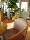 喫茶コーナーの椅子