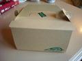 ケーキ用のボックス