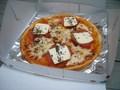 テイクアウトしたピザ 2