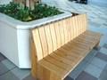 セントラルモールのベンチ