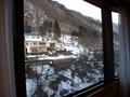 部屋の窓からの眺望
