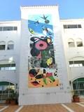 スペイン広場の壁画