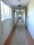 ホテル棟1階の廊下