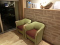 浴衣コーナーの椅子