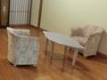 女湯 椅子とテーブル