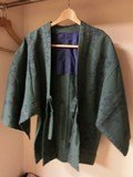 男性用の茶羽織