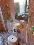 極楽の湯の洗い場