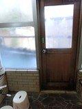 美月乃湯 露天風呂のドア