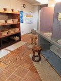 椰子の木陰の露天風呂 脱衣所