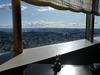 68階の和食レストラン「四季亭」の窓際席のテーブル全景