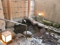 古代檜大浴場の露天風呂