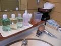 大浴場の洗面所の設備