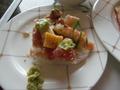 最上階70階のレストラン「シリウス」の名物料理『ちらし寿司』