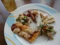 ランチバイキングのお料理の一例