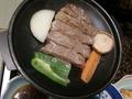 米沢牛のステーキ(焼いた状態)