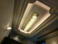 ワンコ同伴席の天井の照明