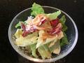 レディースランチのサラダ