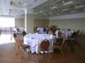 18階宴会場の円卓テーブル