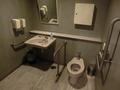 18階身障者用トイレの内部の様子