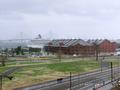 赤レンガ倉庫と豪華客船