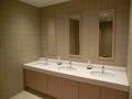 ロビーフロアそばのトイレの洗面所